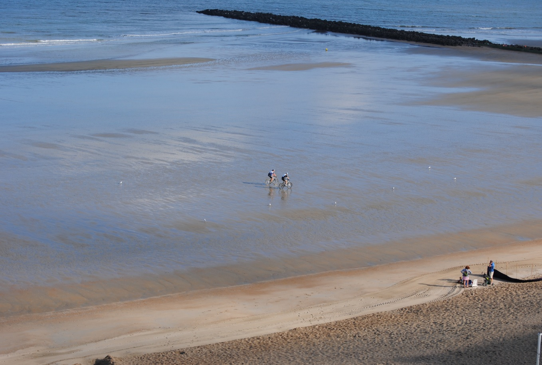 Strand in Belgien